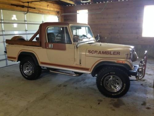 1981 jeep scrambler cj8 v6 manual for sale springfield mo craigslist. Black Bedroom Furniture Sets. Home Design Ideas