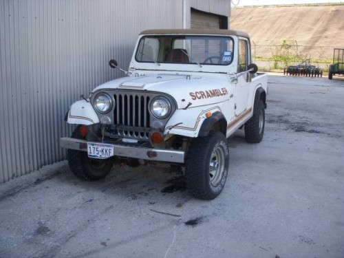 1984 jeep scrambler cj8 258 auto for sale san antonio tx craigslist. Black Bedroom Furniture Sets. Home Design Ideas