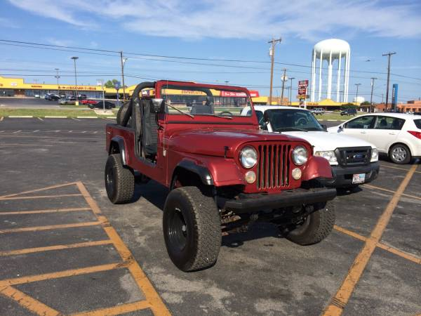 San Antonio Jeep >> 1984 Jeep Scrambler Cj8 V8 Manual For Sale San Antonio Tx Craigslist