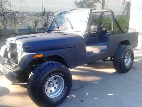 1982 jeep scrambler cj8 project for sale orlando fl craigslist. Black Bedroom Furniture Sets. Home Design Ideas