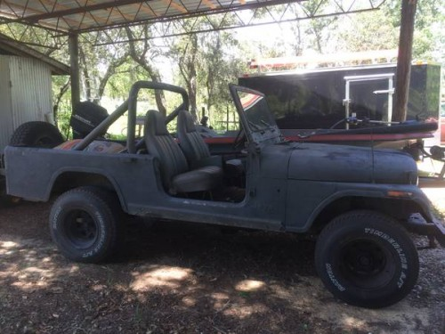 1981 Jeep Scrambler Cj8 258 Auto For Sale Lake Wales Fl