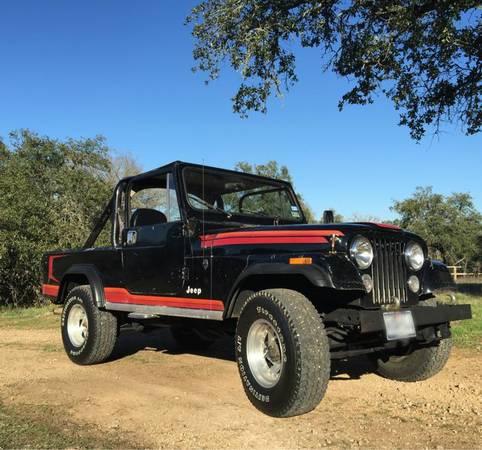 1981 Jeep Scrambler CJ8 360 V8 Auto For Sale Manchaca, TX