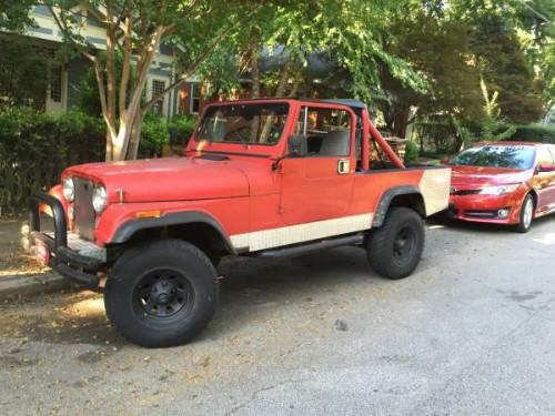 1982 Jeep Scrambler CJ8 258 ci Manual For Sale Atlanta, GA ...