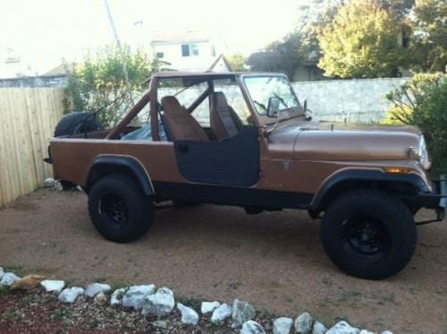 1982 Jeep Scrambler Cj8 V6 Manual For Sale San Antonio Tx
