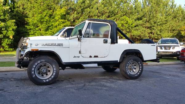 1983 Jeep Scrambler Cj8 V6 Manual For Sale Greenville Sc Craigslist