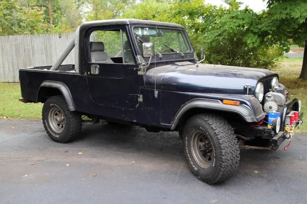 1981 jeep scrambler cj8 258 v6 for sale central jersey nj craigslist. Black Bedroom Furniture Sets. Home Design Ideas