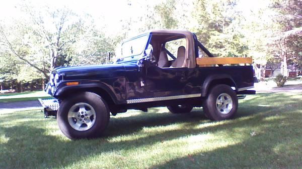 1981 Jeep Scrambler Cj8 V6 Manual For Sale Redding Ca Craigslist