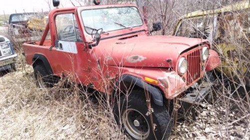 1983 jeep scrambler cj8 v8 manual for sale waupun wi craigslist. Black Bedroom Furniture Sets. Home Design Ideas