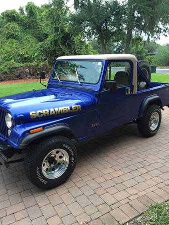 Jeep scrambler for sale in florida cj 8 north american for St augustine craigslist