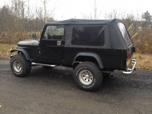 1984 jeep scrambler cj8 manual for sale albany ny craigslist. Black Bedroom Furniture Sets. Home Design Ideas