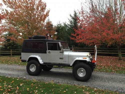 1984 jeep scrambler cj8 v8 auto for sale sumas wa craigslist. Black Bedroom Furniture Sets. Home Design Ideas