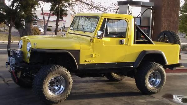 1982 Jeep Scrambler Cj8 350 Auto For Sale Phoenix Az Craigslist