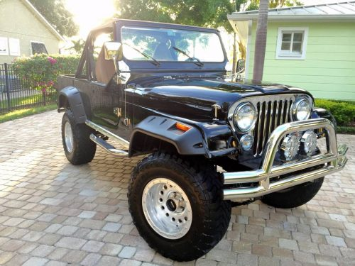 1981 jeep scrambler cj8 v6 manual for sale orlando fl craigslist. Black Bedroom Furniture Sets. Home Design Ideas