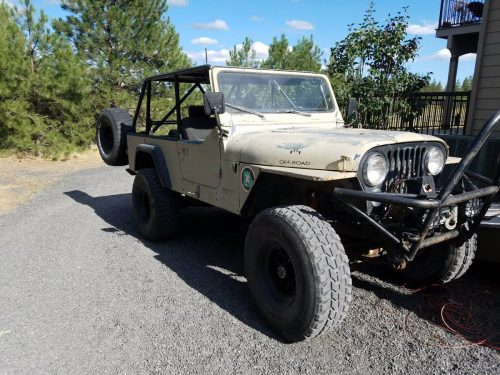 1983 jeep scrambler cj8 350 auto for sale spokane wa. Black Bedroom Furniture Sets. Home Design Ideas