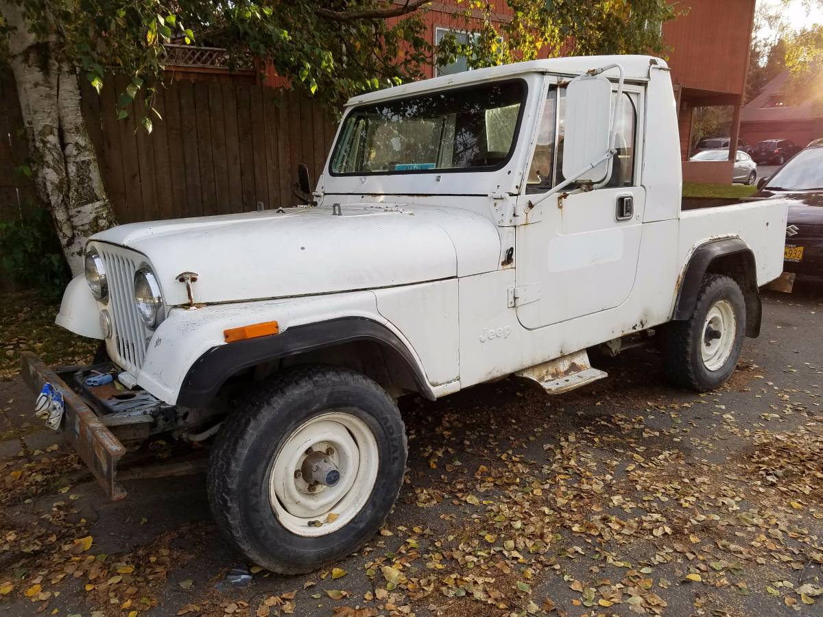 1984 Jeep Scrambler CJ8 S6 Auto For Sale Anchorage, AK ...